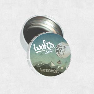 Cendrier de poche - I Woks Sound