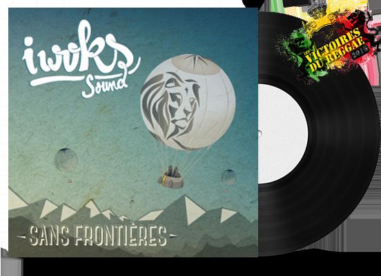 """Couverture de l'album """"Sans Frontières"""" I Woks Sound"""