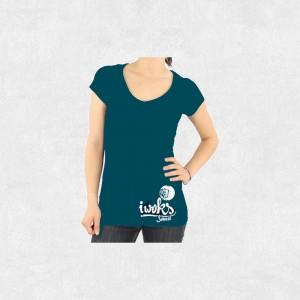 Tee-Shirt I Woks Sound - Sans Frontières - Femme