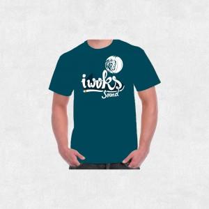 Tee-Shirt I Woks Sound - Sans Frontières - Homme