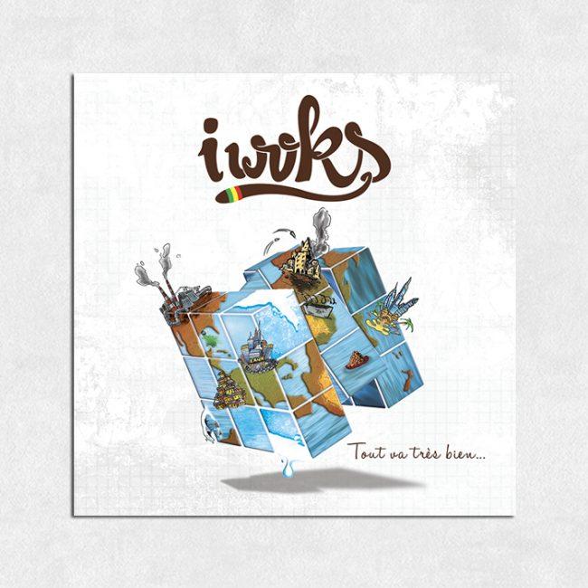 "Albums I Woks ""Tout va bien ..."""