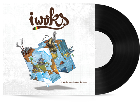 """Album """"Tout va très bien"""" I Woks"""