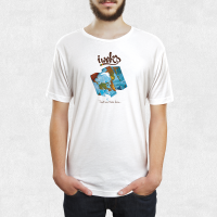 Tee Shirt I Woks - Blanc - Homme